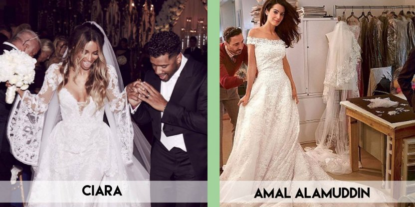 9 Hollywood's best wedding gowns