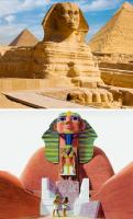 6. The Sphinx's original appearance