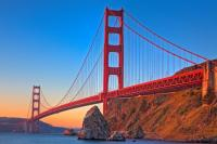 9. The Color of the Golden gate Bridge