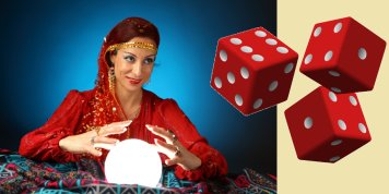 Fortune-telling GAME with dice!