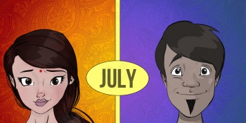 There are 4 types of people born in JULY. Which one are you?