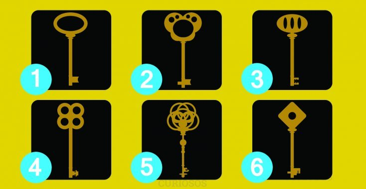 A test done by a renowned psychologist! Choose a key and discover your hidden personality! 2
