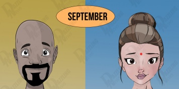 There are 4 types of people born in SEPTEMBER. Which one are you?