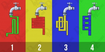 From which tap does the water run faster? Your answer will reveal how smart you are!!!
