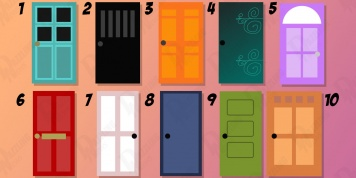 Psychological test: choose the door to find out more about your personality!