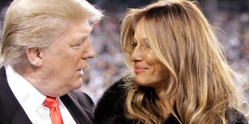 "Melania Trump married ""her father"" and this picture shows this..."