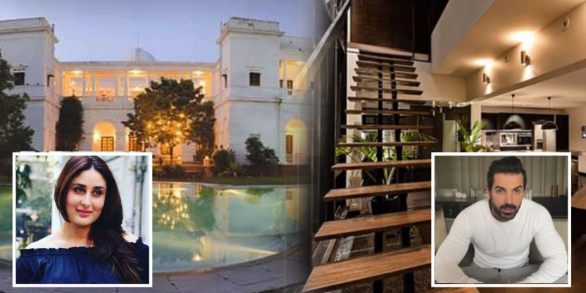 9 LUXURY houses of Bollywood stars!