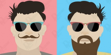 A beard or moustache? Check out what your facial hair says about your character