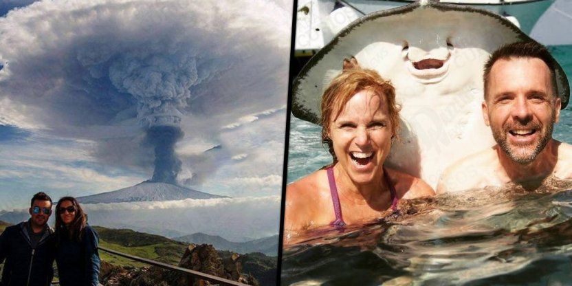 9 Real photos taken at the right place and time...