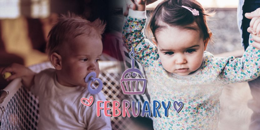 Characteristics of a baby born in FEBRUARY!