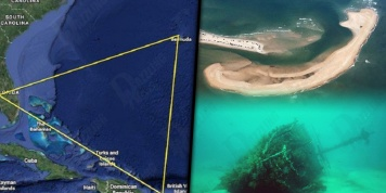 A rare (and dangerous) island appeared in the Bermuda Triangle!