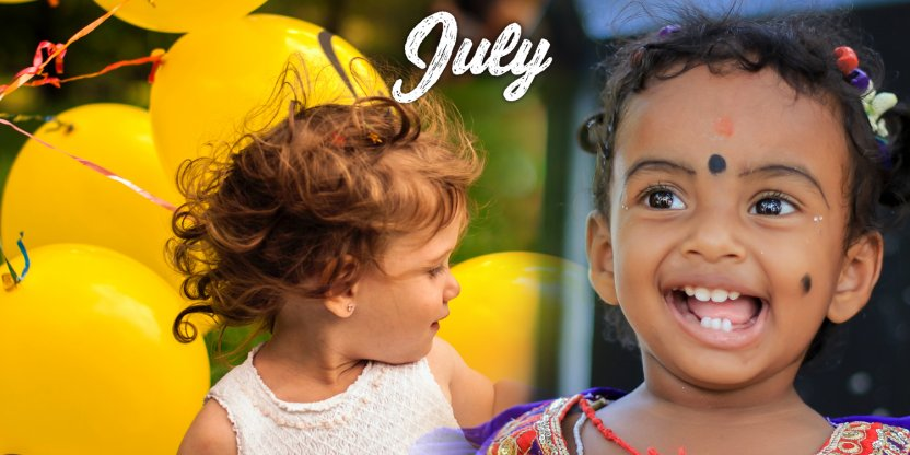 Characteristics of a baby born in JULY!