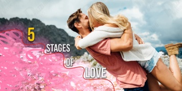 5 Stages of love: the 3rd is the most difficult to overcome...