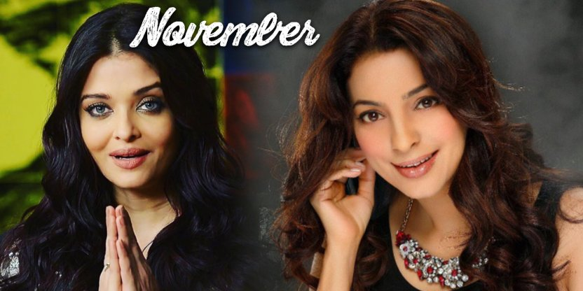 The most inspirational NOVEMBER born female celebrities!