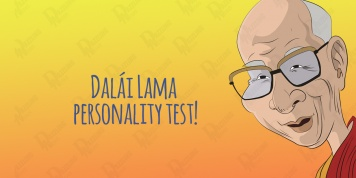 The Dalai Lama personality test!