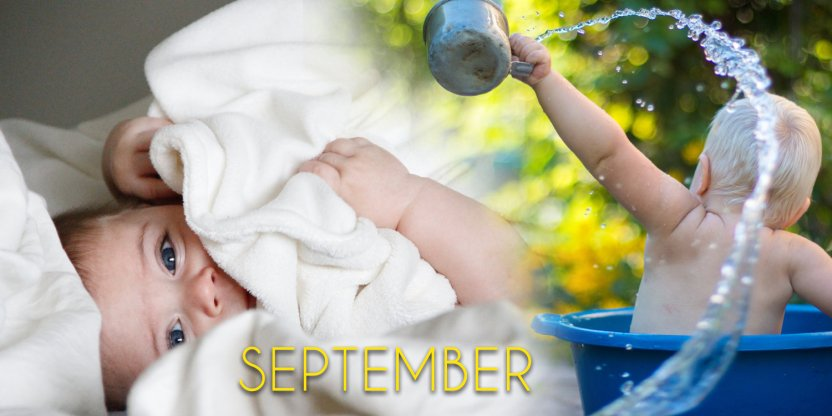 Characteristics of a baby born in SEPTEMBER