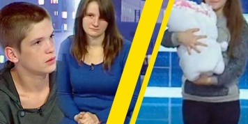 The Lowest Low: Ukrainian 12-year-old To Find Out On Live TV Who Her Baby Daddy Is (And It Might Be One Of Her Two Brothers)