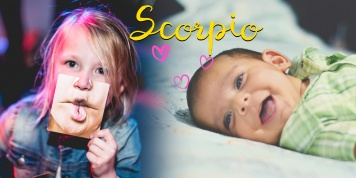 What kind of baby will the Zodiac Scorpio be?
