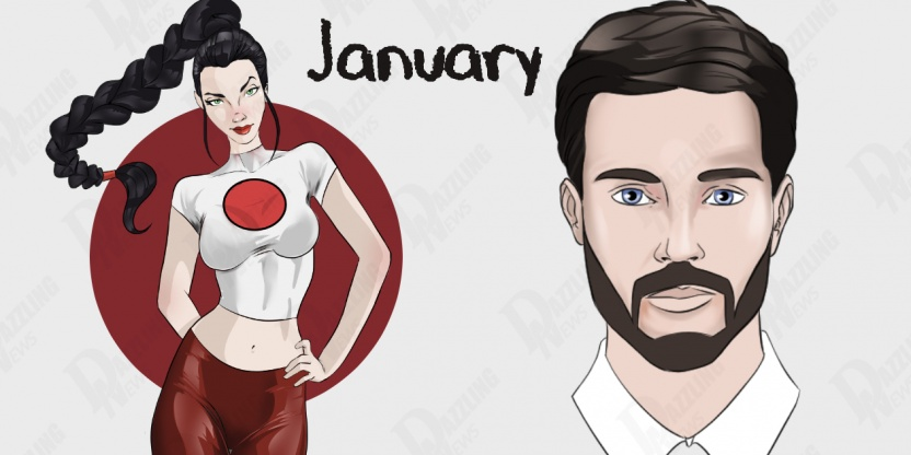 Indian astrology of men and women born in JANUARY!