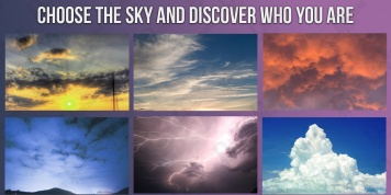 Choose the sky and find out your hidden personality!