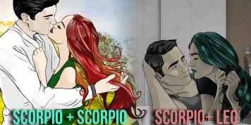 Compatibility of Scorpio with other signs in relationships...