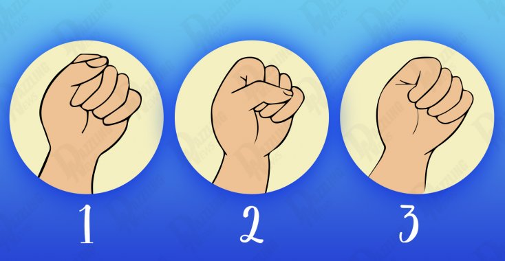 What the fist reveals about every individual's personality! 2