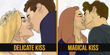 Discover how each sign kisses. Who does it better?