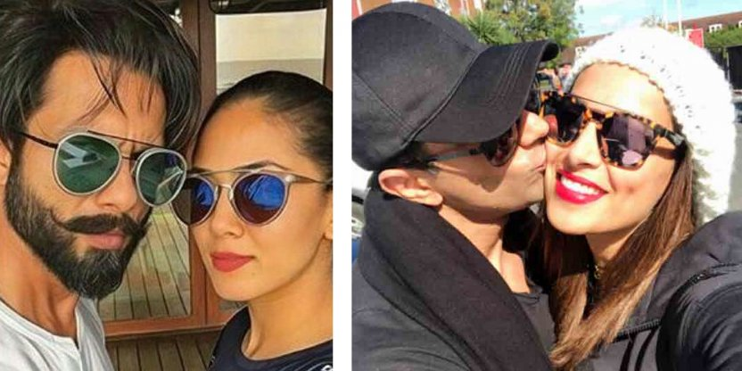 The most popular Bollywood couples and their honeymoon destinations!