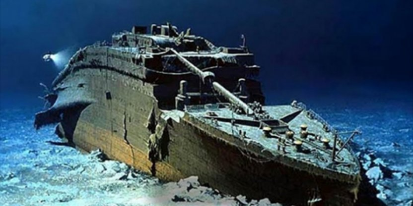 Scientists discover remains of the Titanic. See how it looks...