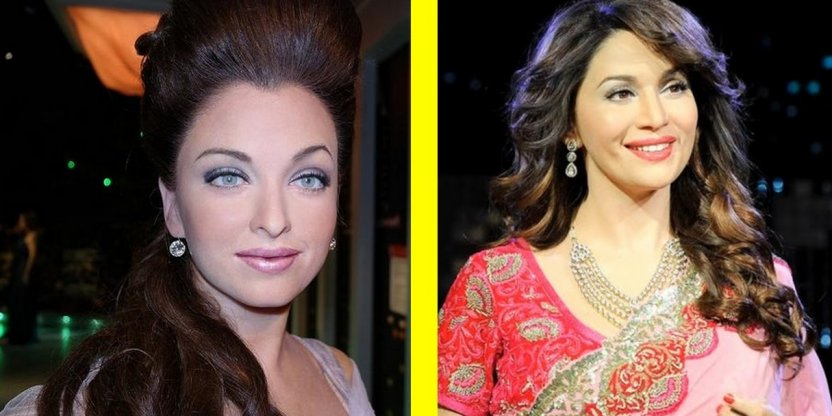How accurate the wax figures of Bollywood stars are?!