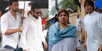 Bollywood celebrities who paid tribute at Shashi Kapoor's funeral