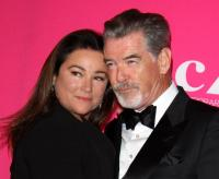 9. Keely Shaye Smith and Pierce Brosnan