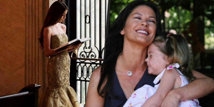 The daughter of Michael Douglas and Catherine Zeta-Jones is no longer a little girl!