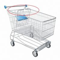 "Have you ever asked yourself how the ""handles"" on the shopping cart work? 6"