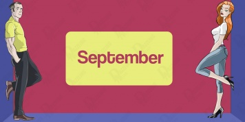 Indian astrology of men and women born in SEPTEMBER!