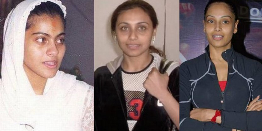 How 9 Bollywood stars look without makeup!