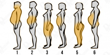 Body parts where we put on weight the fastest indicate what food we should AVOID!
