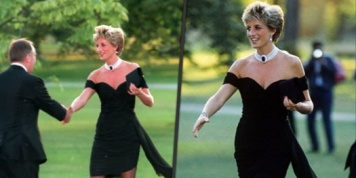 """The dress of revenge"", Princess Diana's outfit which gained great fame..."