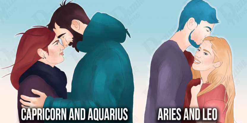 30 Combinations of Zodiac signs that will make the BEST couples this year...