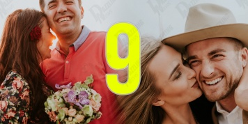 Numerology of the relationship with vibration number 9