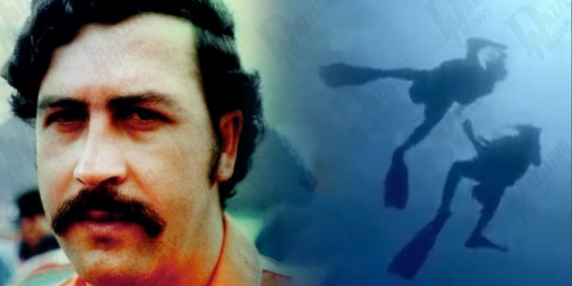 Pablo ESCOBAR's submarine has been discovered on the coasts of Colombia