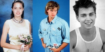 10 Pictures of stars when they were young