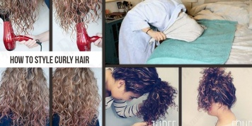 10 Tricks that all women with curly hair should know