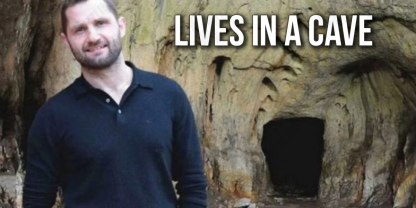 The millionaire who left everything to live in a cave