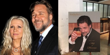Russell Crowe earned more than 3 million dollars on the divorce sale of props