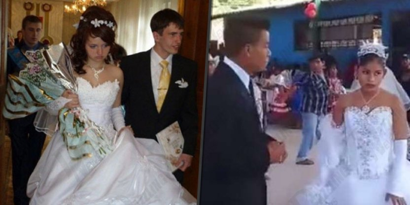 "7 Brides who could not hide the ""JOY"" of getting married..."