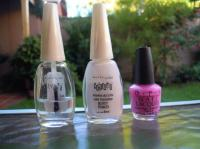 Try the transparent nail polish!