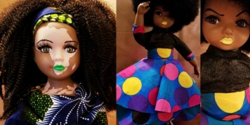Artist who creates dolls that change children's lives