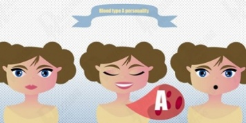 personality based on blood type