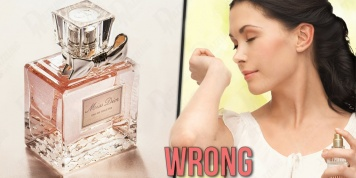 9 Mistakes that we all make when using perfumes...